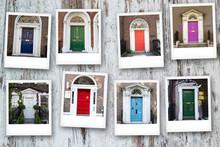 Polaroid Of Georgian Doors In ...