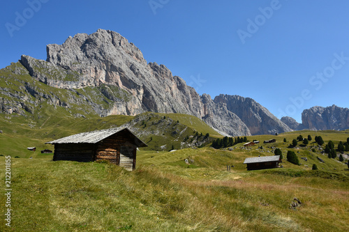 Naturpark Puez-Geisler; Cislesalpe; Geislergruppe; Dolomiten; Suedtirol; Wallpaper Mural
