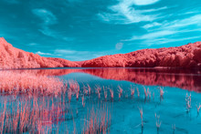 Plitvice Lakes National Park - Infrared