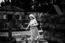 Statua Di Angelo Nel Cimitero