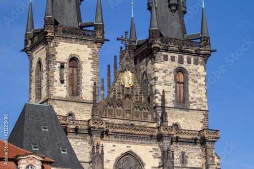 Tyn church in Prague Poster