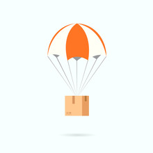 Parachute With Box