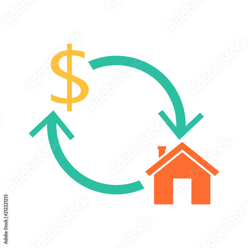 Fototapeta Home reverse mortgage obraz