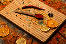 Culinary Arts Concept. Spices ...