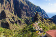 Masca village view, the most visited tourist attraction of Tenerife, Spain