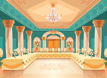 Vector Hall For Banquet, Weddi...