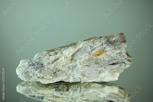Photo Lithium mineral spodumene from Haapaluoma, Finland