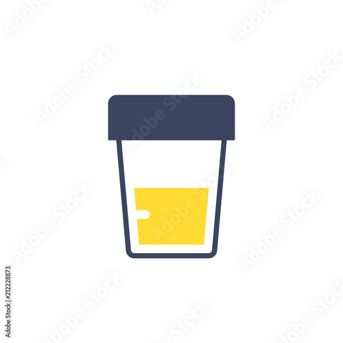 Fotomural  Urine test icon