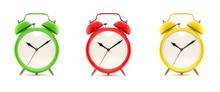 Set Of Three Alarm Clocks