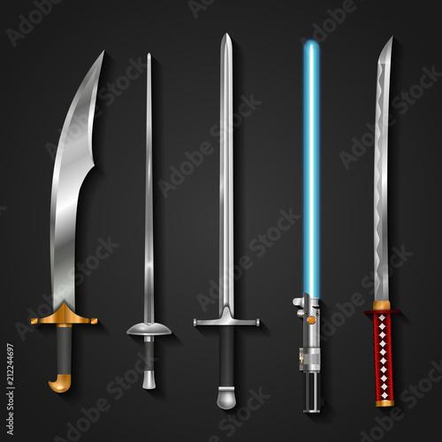 Swords Tablou Canvas