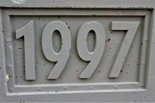 1997 Schriftzug