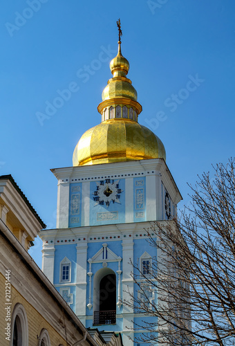 Spoed Foto op Canvas Kiev Saint Michael Golden Monastery in Kiev, Ukraine