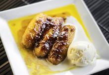 Asian Fried Banana And Sugar C...