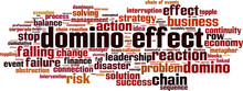 Domino Effect Word Cloud