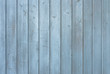 canvas print picture - Holz Wand Hintergrund Textur Bretter Farbe Hell Grau Blau