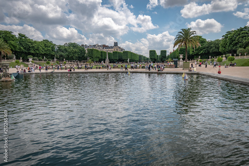 Riviere Paris, Jardin du Luxembourg,