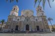 Catedral de la Santa Cruz de la ciudad de Cadiz España