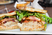 Delicious Turkey Club Sandwich...