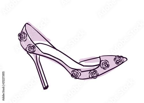 Valokuva High heel shoe