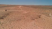 Aerial View Of Arizona Desert, USA