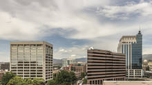Downtown Boise Cityscape. View...