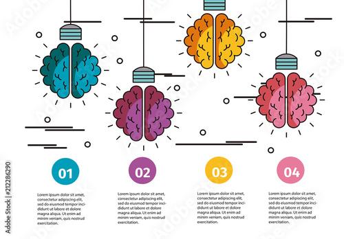 Creative Process Infographic Layout. Kaufen Sie diese ...