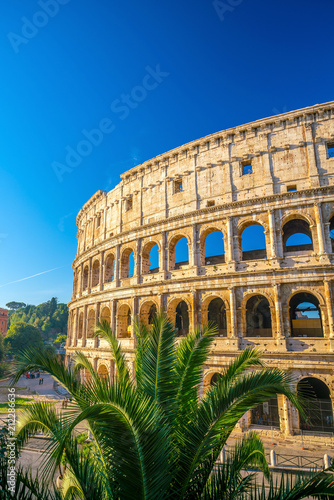 Foto op Aluminium Centraal Europa View of Colosseum in Rome, Italy