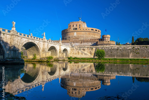 Photo Saint Angel Castle in Rome, Italy