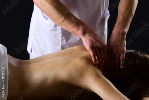 Sexy massage for woman