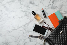 Flat Lay Composition With Styl...