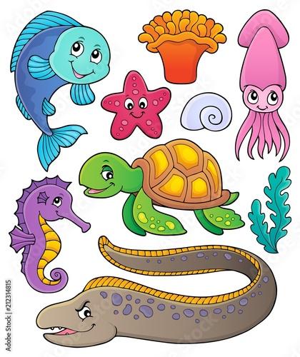 In de dag Voor kinderen Sea life theme collection 1