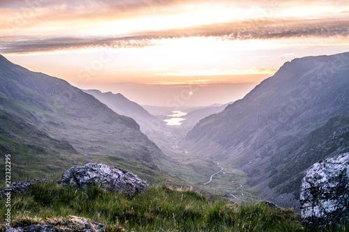 Fotografía Snowdonia Sunset IV