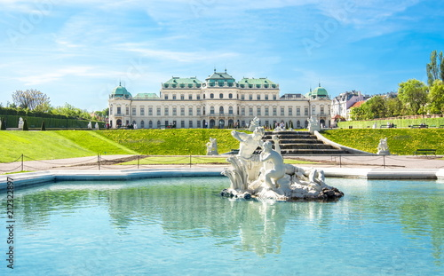 La pose en embrasure Vienne Upper Belvedere palace, Vienna, Austria