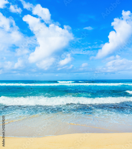 Photo Stands Landscapes The Indian ocean landscape. Beautiful view of a sea