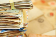 Heap Of The Old Postal Paper L...
