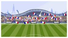 Football Fans Vector Illustrat...