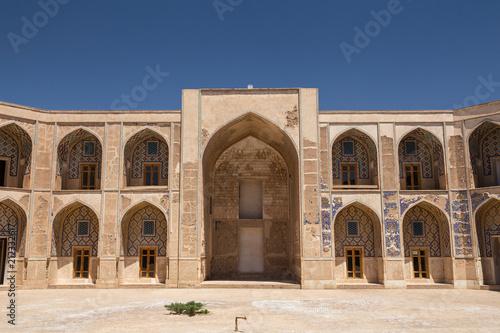 Poster Monument Ghyasyh School, Khargerd, Khorasan, Iran