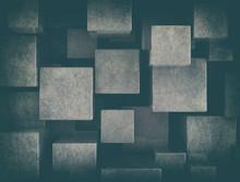 Grey Cubes, Illustration