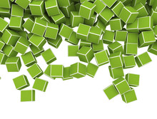 Green Cubes, Illustration