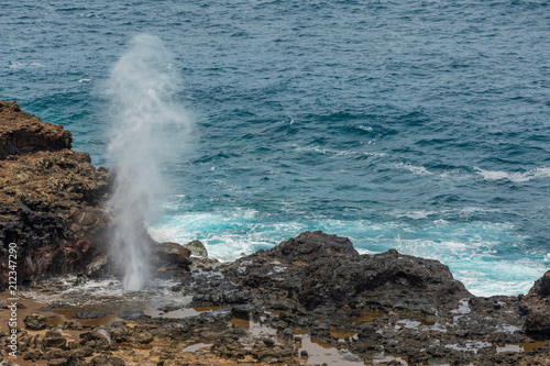 Tablou Canvas Scenic Nakalele Blowhole on Maui