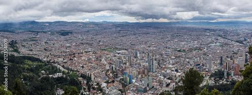 Keuken foto achterwand Zuid-Amerika land Vue sur Bogota depuis le Cerro de Monserrate