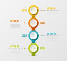 Concept Of Company Milestone W...
