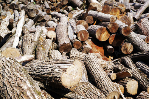Getting Woodpile Ready For Winter >> Stack Of Firewood Wooden Log Pile Of Wood Logs Ready For Winter