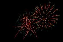 Swarming Firework Display At N...