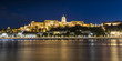 The panoramic view of the castle of Budapest, Hungary