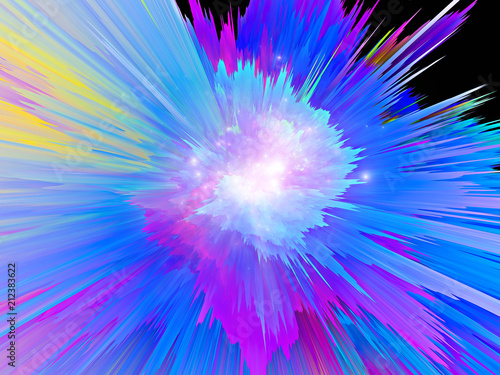 Obraz Color Burst - fototapety do salonu