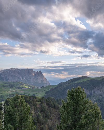 Printed kitchen splashbacks South Africa Mountains Lakes and Nature in the Dolomites, Italy