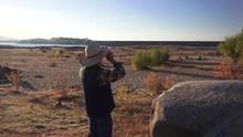 Folsom Lake , Binoculars, Drou...