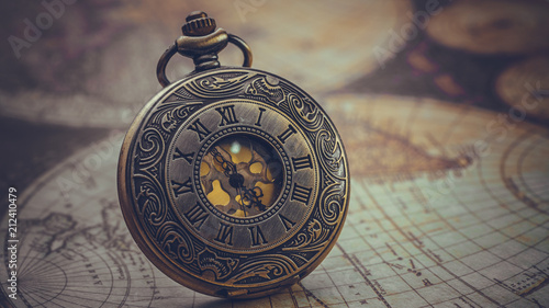 Antique Engraved Watch