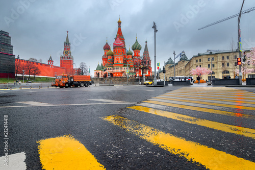 Moscow Red square - Russia Canvas Print